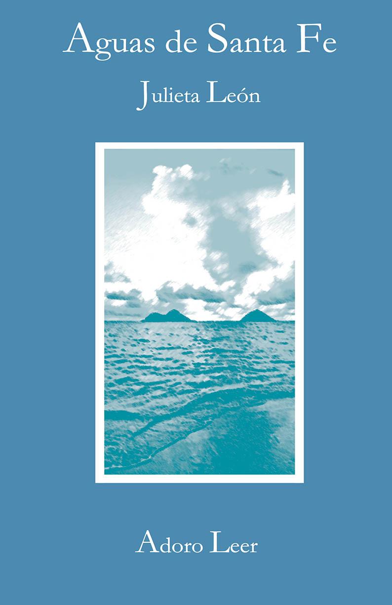 portada libro poesía aguas de santa fe