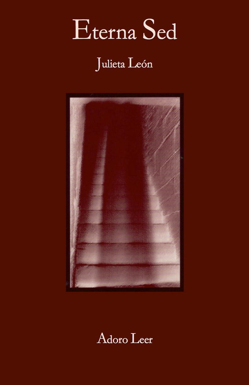 portada libro de poesía eterna sed