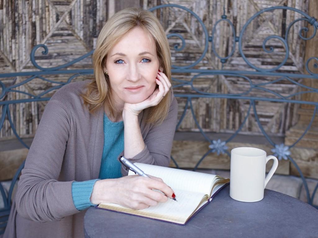 foto de JK Rowling