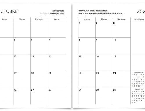 Calendario para imprimir 2021 gratis
